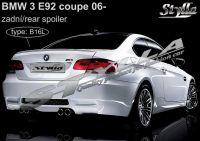 Spoiler zadní kapoty pro BMW 3/E92 coupe 2006r =>