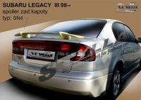 Zadní spoiler křídlo zadní pro SUBARU Legacy 98-2003r