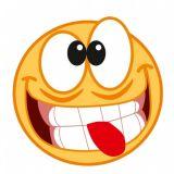 SAMOLEPÍCÍ DEKORY SMAJLÍK směšný obličej