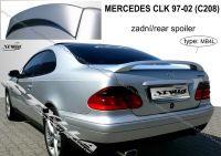 Zadní spoiler křídlo zadní pro MERCEDES CLK 97-2002r C208
