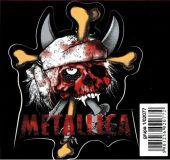 SAMOLEPÍCÍ DEKORY Metallica pirát