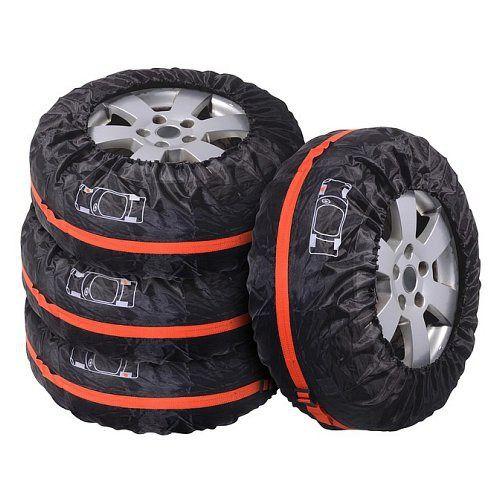 Kvalitní návlek, pytel (vak) na pneumatiku, sada 4ks, Na každém návleku grafické označení penu Compass