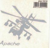 SAMOLEPÍCÍ DEKORY Vrtulník Apache 11x9 cm