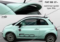 Spoiler zadní pro FIAT 500 2009r =>