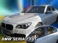 Plexi, ofuky BMW serie 7 F01 4D 2008=>, sedan, přední+zadní