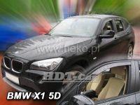 Plexi, ofuky BMW X1, 5D 2011 =>, přední