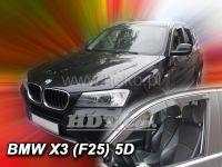 Plexi, ofuky BMW X3 F25 5D 2010=>
