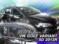 Plexi, ofuky VW Golf VII 5D variant 2013 =>, přední