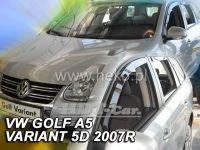 Plexi, ofuky VW Golf V A combi, 5D 2007-2009, + zadní