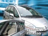 Plexi, ofuky Citroen C4 Picasso 5dv., 2006r =>, sada 2ks přední HDT