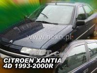 Plexi, ofuky Citroen Xantia 4D 93--00R sedan + zadní