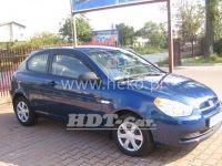 Plexi, ofuky Hyundai Accent 3D 2006 =>, přední