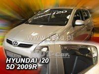 Plexi, ofuky Hyundai i20 5D 2009 =>, přední + zadní