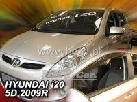 Plexi, ofuky Hyundai i20 od 2009r =>, sada 2ks přední