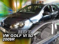 Plexi, ofuky VW Golf VI, 5D 2008 =>, přední