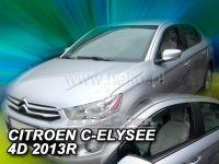 Plexi, ofuky Citroen C-Elysee 4D 2013=> přední 2ks>