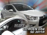 Plexi, ofuky Citroen DS4 5D 2011=> přední 2ks>