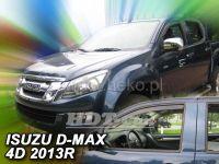 Plexi, ofuky Isuzu D-Max 2/4D 2 generace 2012r =>, přední 2ks