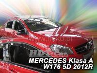 Plexi, ofuky Mercedes A W176 5D 2012=> přední 2ks>