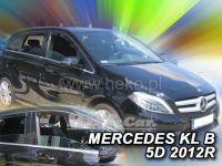 Plexi, ofuky Mercedes B W246 5D 2011r =>, přední