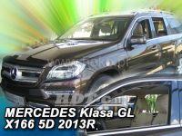 Plexi, ofuky Mercedes GL X 166 5D 2013 =>, přední 2ks