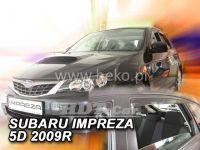 Plexi, ofuky SUBARU Impreza GH 5D, 2008 =>, přední + zadní