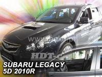 Plexi, ofuky SUBARU Legacy 5D, 2010 =>, přední + zadní