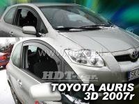 Plexi, ofuky TOYOTA Auris 3D 2007 =>, přední