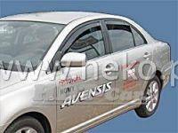 Plexi, ofuky TOYOTA Avensis 4/5D 97-2003, přední
