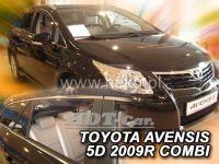 Plexi, ofuky TOYOTA Avensis combi 5D 2009 =>, přední + zadní