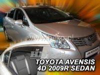 Plexi, ofuky TOYOTA Avensis sedan 4D 2009 =>, přední + zadní