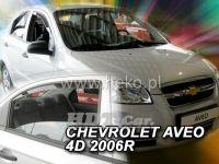 Plexi, ofuky Chevrolet Aveo 4D 2006 => sedan přední + zadní