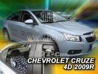 Plexi, ofuky Chevrolet Cruze 2009r =>, 4ks přední + zadní