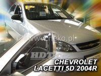 Plexi, ofuky Chevrolet Lacetti 4D, 2004 => přední