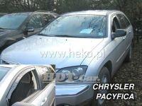 Plexi, ofuky Chrysler Pacifica 5D 2004 =>, přední