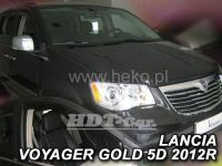 Plexi, ofuky Chrysler Voyager grand 5D 2008 =>, přední