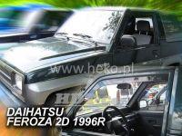 Plexi, ofuky Daihatsu Feroza 2D 89--98R přední