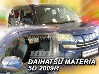 Plexi, ofuky Daihatsu Materia 5D 2006 =>, přední
