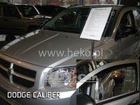 Plexi, ofuky Dodge Caliber 5D 2006 =>, přední + zadní