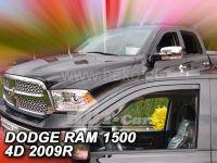 Plexi, ofuky Dodge Ram 4D 2009r =>, 2ks přední