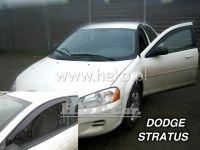 Plexi, ofuky Dodge Stratus 4D 2001 => přední