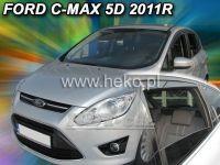 Plexi, ofuky Ford C MAX 5D, 2011 =>, přední + zadní
