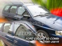 Plexi, ofuky Ford Escort 5D 90--01R combi přední + zadní