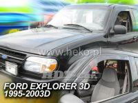 Plexi, ofuky Ford Explorer 3D 95--03R přední