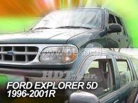 Plexi, ofuky Ford Explorer 5D 96--01R přední