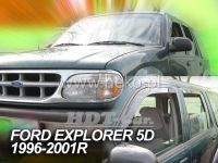 Plexi, ofuky Ford Explorer 5D 96--01R přední + zadní