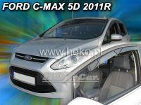 Plexi, ofuky Ford Grand C-MAX 5D 2011 =>, přední
