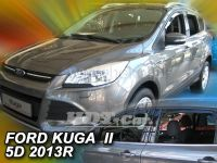 Plexi, ofuky Ford Kuga II 5D, 2012=> přední + zadní