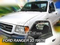 Plexi, ofuky Ford Ranger Pic-up 2/4D 1997 =>, přední