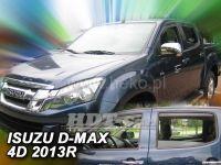 Plexi, ofuky Isuzu D-Max 2/4D 2 generace 2012 =>, sada 4ks přední + zadní